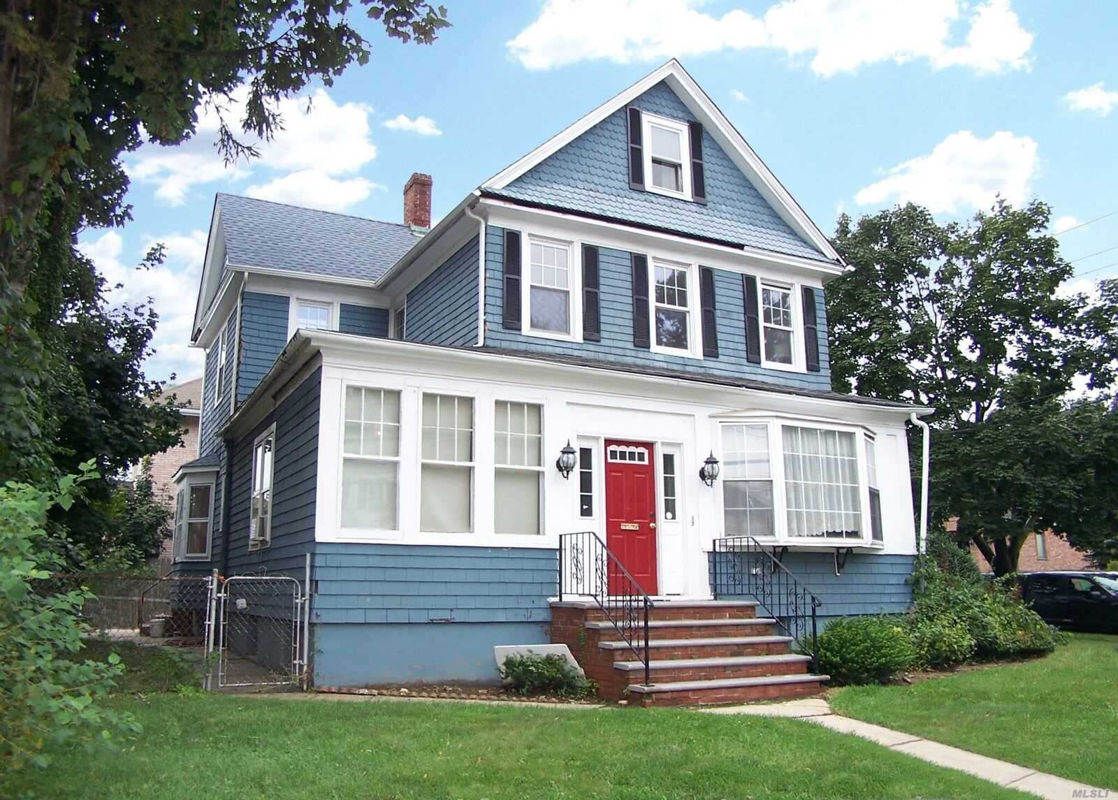 Location, Location, Location!!! Charming House In The Heart Of Whitestone. Large Fully Fenced Corner Property. Spacious Living rooms, High Ceilings, Large Bedrooms & Hardwood Floors. New Kitchen & Updated Bath (2nd Floor) & Roof. Spacious Closets & Walk-Up Attic. Full Basement With Bar & Separate Entrance. Great School District. Conveniently Located To Long Island City & Flushing Bus, Cross Island Expressway & Whitestone Bridge ( View From 3rd Floor). Perfect For Extended Family Or Investment!