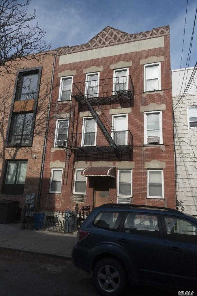 6 Family Brick Building With Plenty Of Upside Potential In Prime Lic/Hunters Point Location. Rent Stabilized Building. Each Apt Has 2 Br Railroad Style. All Tenants Have Leases Until 5/31/20.  Total Income $92, 000 Taxes $10, 000 Insurance $4, 000 Water $7, 000 Elect $1, 000 Fuel (Oil) $8, 000 Total Expenses $30, 000 Noi $62, 000 Cap Rate 3.4%. The Building Is Close To Great Restaurants, Parks, And Ps1 Moma, 7 Train And Ferry Service Are A Few Blocks Away In Waterfront Gantry State Park.