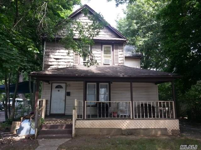 Colonial Style Home. This Home Features 5 Bedrooms, 2 Full Baths, Formal Dining Room & Eat-In Kitchen. Centrally Located To All. Don't Miss This Opportunity!