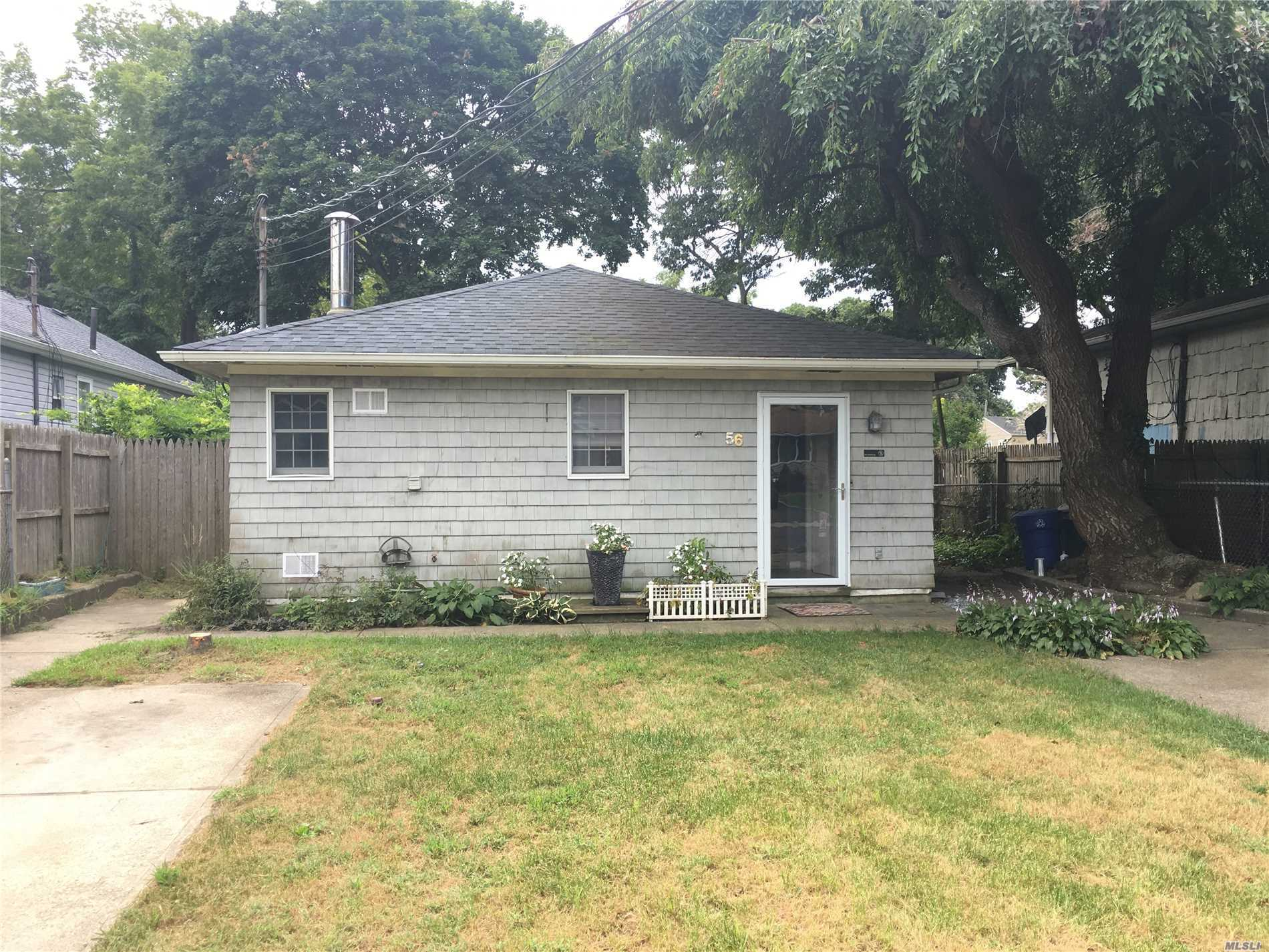 One Of Kind***Massive 3 Br 1400 Sq Ft Ranch***Former Mother Daughter-Duplex** Was Split As 2 Identical 1Br Units** (Mirror Image)= 3 Huge Rooms=kit, 1 Br, Lr, Bath Laundry. Both Ground Level W/No Stairs! Dual Driveway, Easy To Maintain Property Fenced*******->presently******Rooms 3 Br = 2 King Size Bedrooms Dbl Closets, Full/Twin Size Br With Own Bath, Kitchen, Giant Formal Dinning Room, Huge Living Room, 2 Baths **Dividing Wall Is Now Door Way Ties It All Together- New Roof 2010 New Boiler 2016