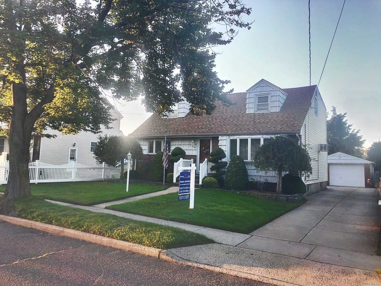 Exp. Cape In Franklin Square; Sd - Polk Elem.; H. Frank Carey Jr./Sr. Hs Grades 7-12. Mrs. Clean Lives Here; Room For Mom; Entertain Bsmt; Close To Shopping & Highways; Perfect Opportunity To Put Your Own Touch On An Already Great Home
