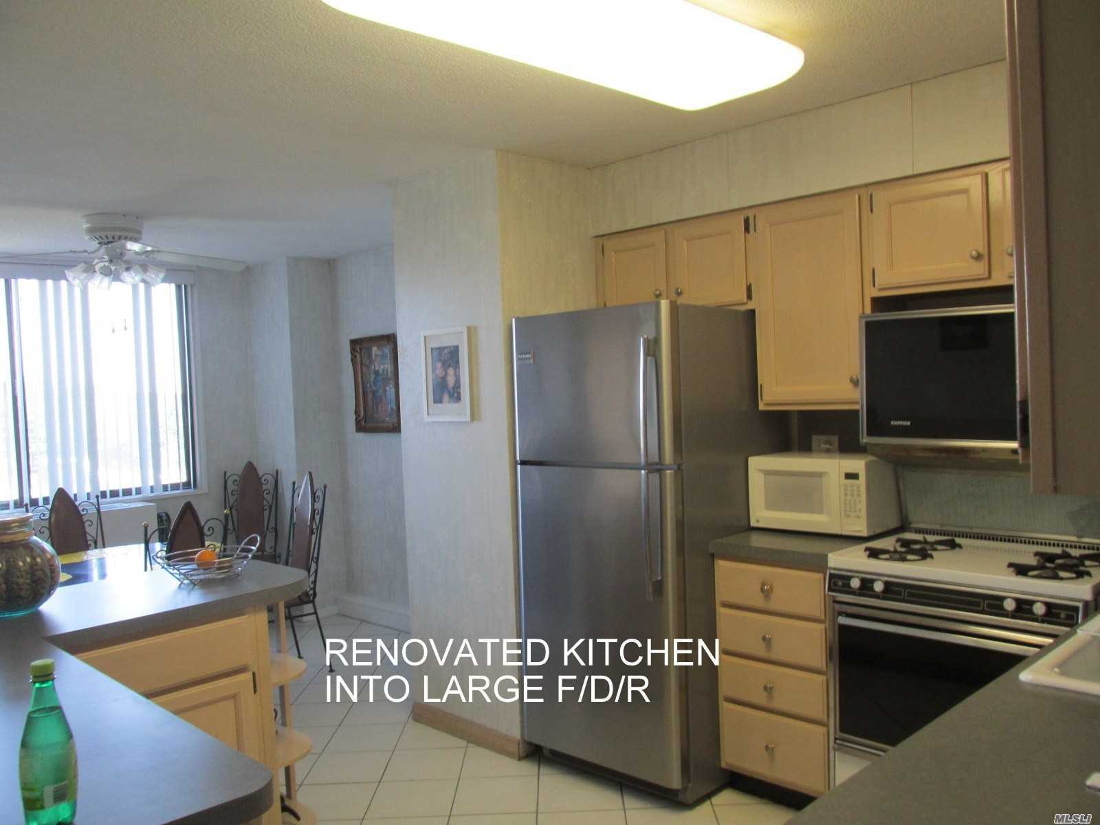 Deluxe Two Bedroom/Two Bath Plus Terrace; Formal Dining Room; Updated Over Sized Eat-In Kitchen; Two Updated Baths; Closets Galore; Terrace; Overlooks Quiet Garden View. Year Round Health/Fitness Club; Shopping Arcade; Restaurant On Premises; Deli; Beauty Salon;Dry Cleaners;Tennis Courts Plus Much More. Near Transportation And Shopping Center.