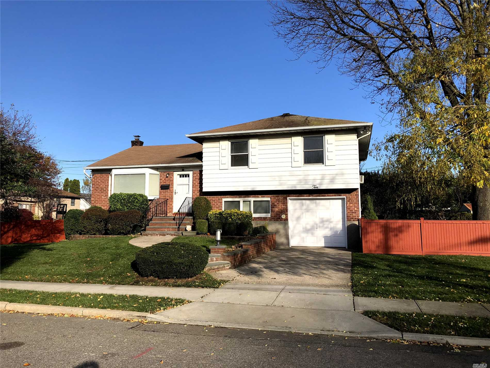 Beautiful Split With Updated Kitchen And Baths. Alarm Systems, 1 Car Garage, Fully Fenced, Back Patio, Shed, Alarm System.