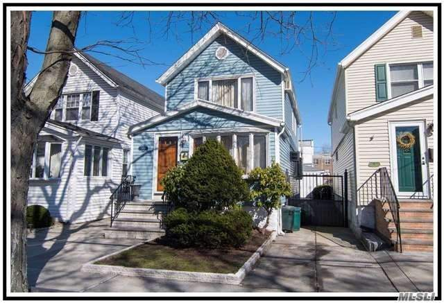 Everything Is New. Beautifully Maintained Single Family Home, Featuring Open Floor Plan & Lots Of Natural Sunlight. Spacious Living Room W/ Bay Window & Skylight, Formal Dining Room, Fabulous Kitchen W/ Stainless Steel Appliances, Half Bath On 1st Floor, Enclosed Porch. 3 Bedrooms & Full Bath On 2nd Floor. Full Finished Basement. 2 Car Garage. Great Location & Excellent Condition. Easy Showing
