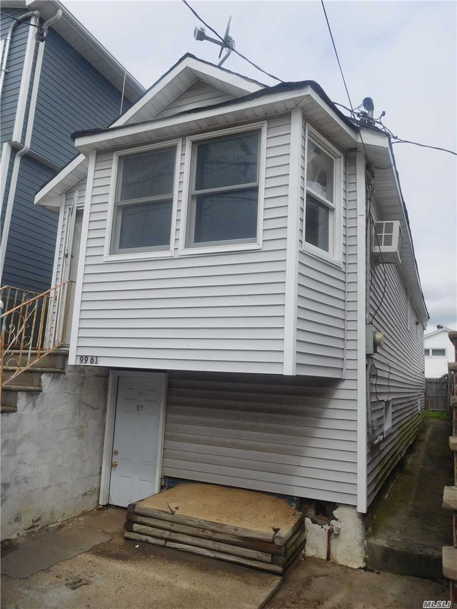 Corporate Owned Property Being Sold In As-Is Condition. Property Has Been Damaged By Hurricane Sandy. No Representations Or Warranties. Buyer To Pay Nyc / Nys Transfer Taxes. Buyer Responsible For Any Liens Or Violations.