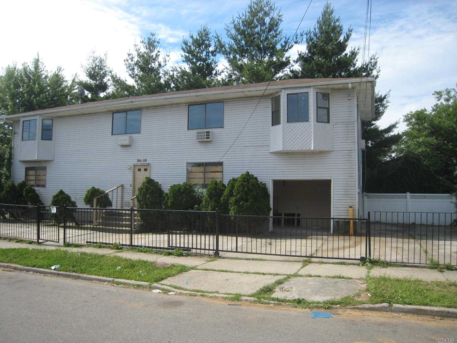 Extra Large 2520 Sq. Ft. One Family Home In St. Albans. Needs Complete Gut Renovation. Sold In As-Is Condition.