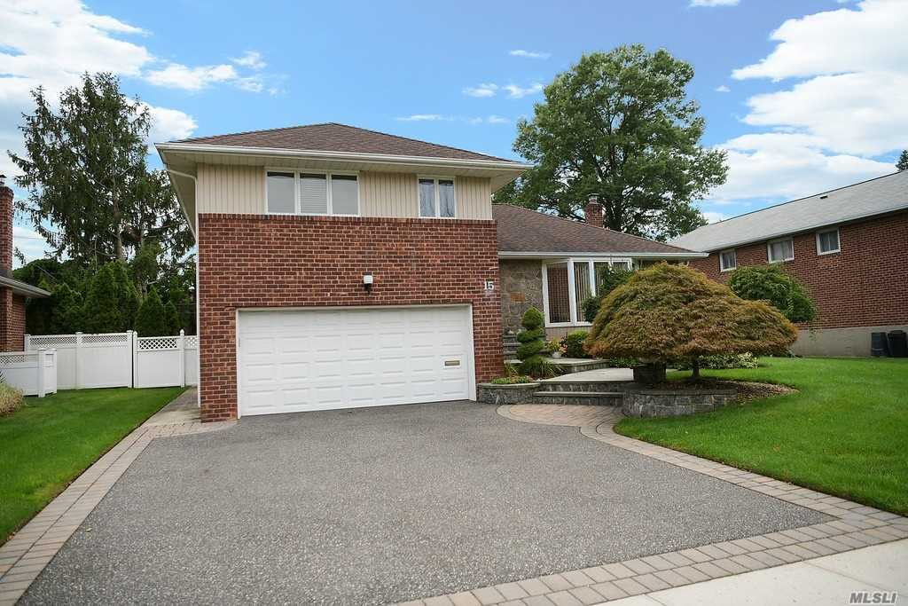 Pristine Split In A Quiet Location In The Heart Of Clearview Village. Gleaming Hardwood Flooring Throughout First Floor! Light & Bright Kitchen With Door Leading To Spacious Deck. 5 Year Old Roof, Cac, 2 Car Garage, Finished Basement, 3 Zone Heat, New Washer & Dryer! This Home Is A Gem & Will Not Last!!