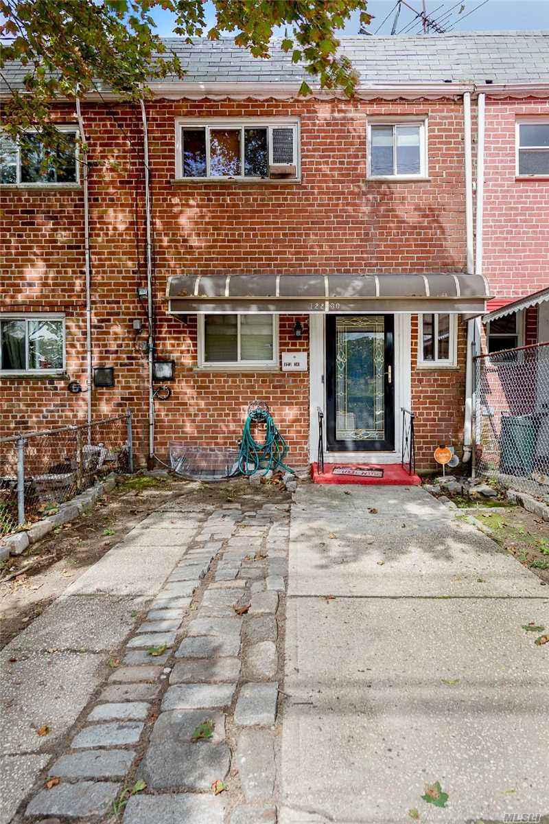 Amazing 1 Family House In Springfield Gardens Prime Location! Huge 3 Br Duplex Brick House, House Is Completely Gut Renovated! 12 ' Finished Basement-Extremely Large! Central Air! Huge Cozy Backyard, Prestigious Size Separate Kitchen Area All New Appliances! Private Drive Way !