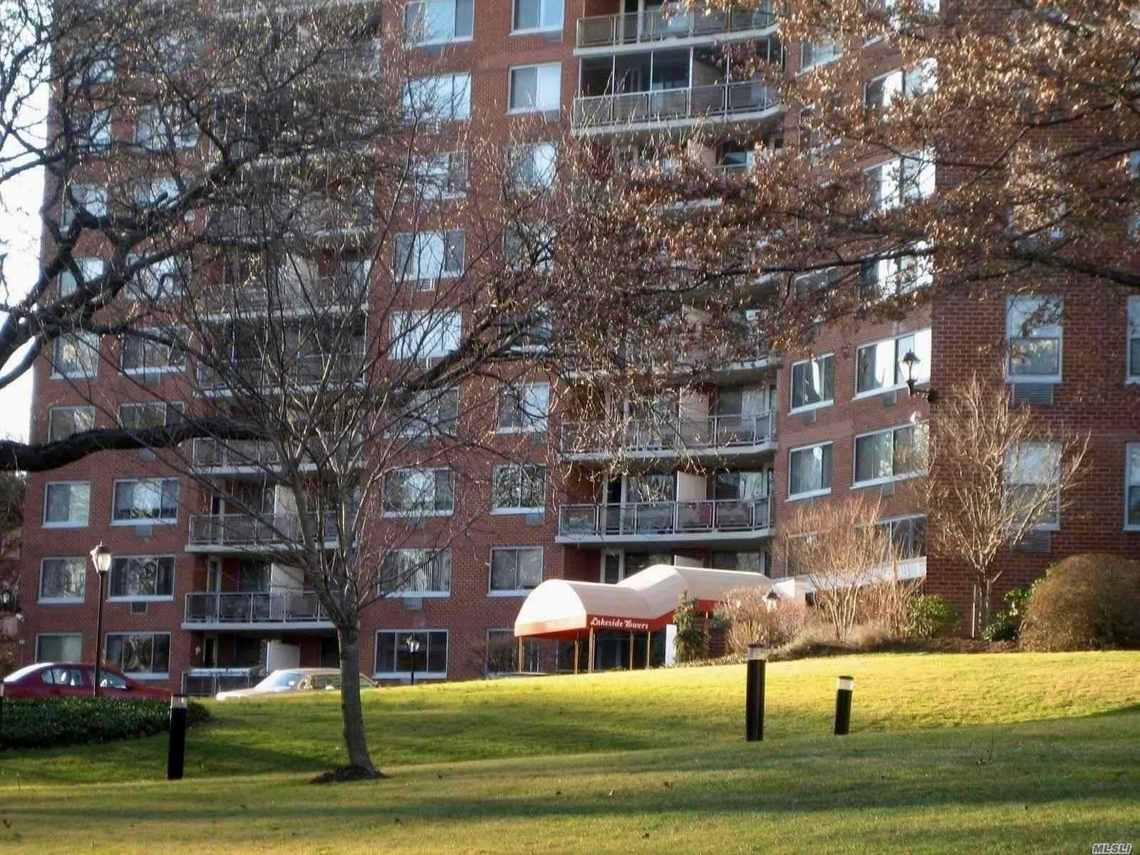 Deluxe Co-Op Building, Large, Bright Sleep Alcove Studio, Renovated Kitchen With Granite Counters, Updated Full Bath, Living/Dining Room, Low Maintenence Incl. All Utilities, Real Estate Tax 24 Hr Doorman. Close To Long Island Rail Road, City/Express Bus , Parkways,  Shops. Southern Exposure With Winter View Of Oakland Lake