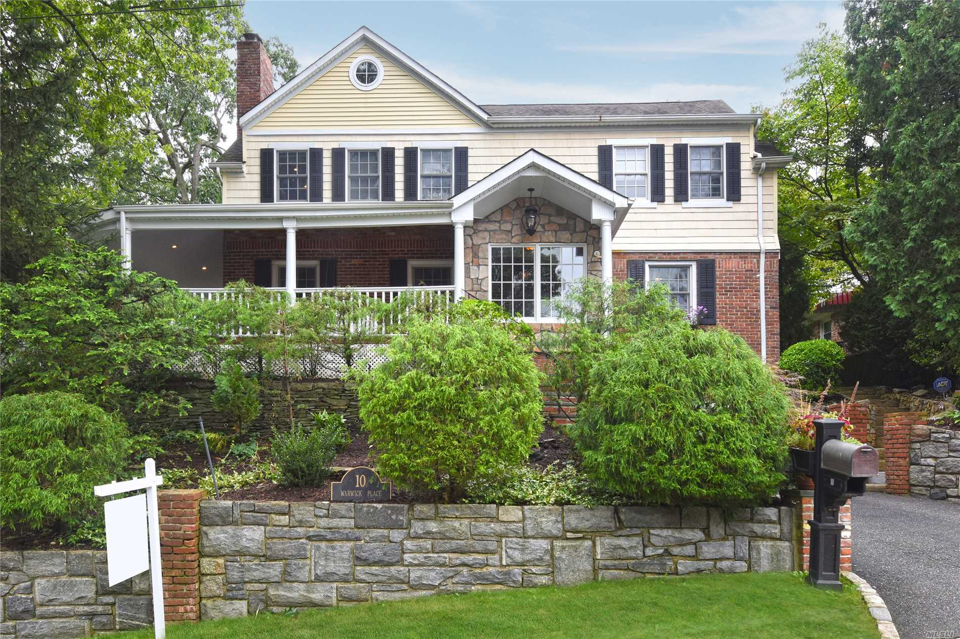 Spectacular House, In Pristine Condition. Entrance Is A Separate Vestibule, Enter Fml Lr W/ Fplc, Flooring Is Dark, Wide Plank Wood, Dr, Kit, Fam Rm Generously Flowing Flr Plan.Kitchen Designed By Showcase And 2 Bedrooms Or 1 Office On The 1st Flr And A Full Bath. 2nd Flr. Boasts A Mbr En-Suite (Like A 5 Star Hotel) And 2 Additional Bedrooms And New Full Bath. Attic Is Floored, W/ A Cedar Closet. All Closet Doors= Solid Wood W/ Auto Lights. Sono Sound System In+Out, Excel. Setting And Grounds
