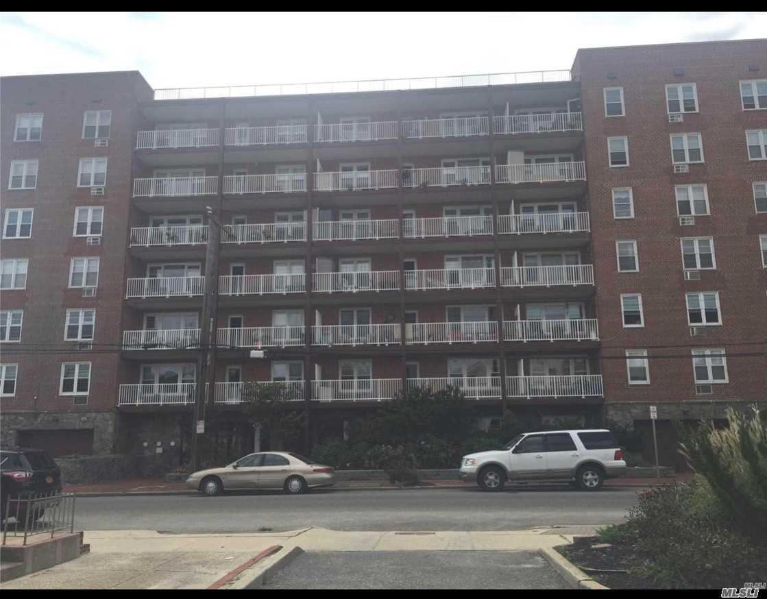 Beautiful, Spacious, Bright Junior 4 W/33 Foot Terrace And Great Views, Large Livingroom, Dining Room, Kitchen W/Stainless Steel Applicances, New Large Bedroom, Full Bathroom, Tons Of Closets, Building Features, Heated Inground Pool, Party Room, Washer/Dryer On Every Floor, Close To Beach & Parkways.