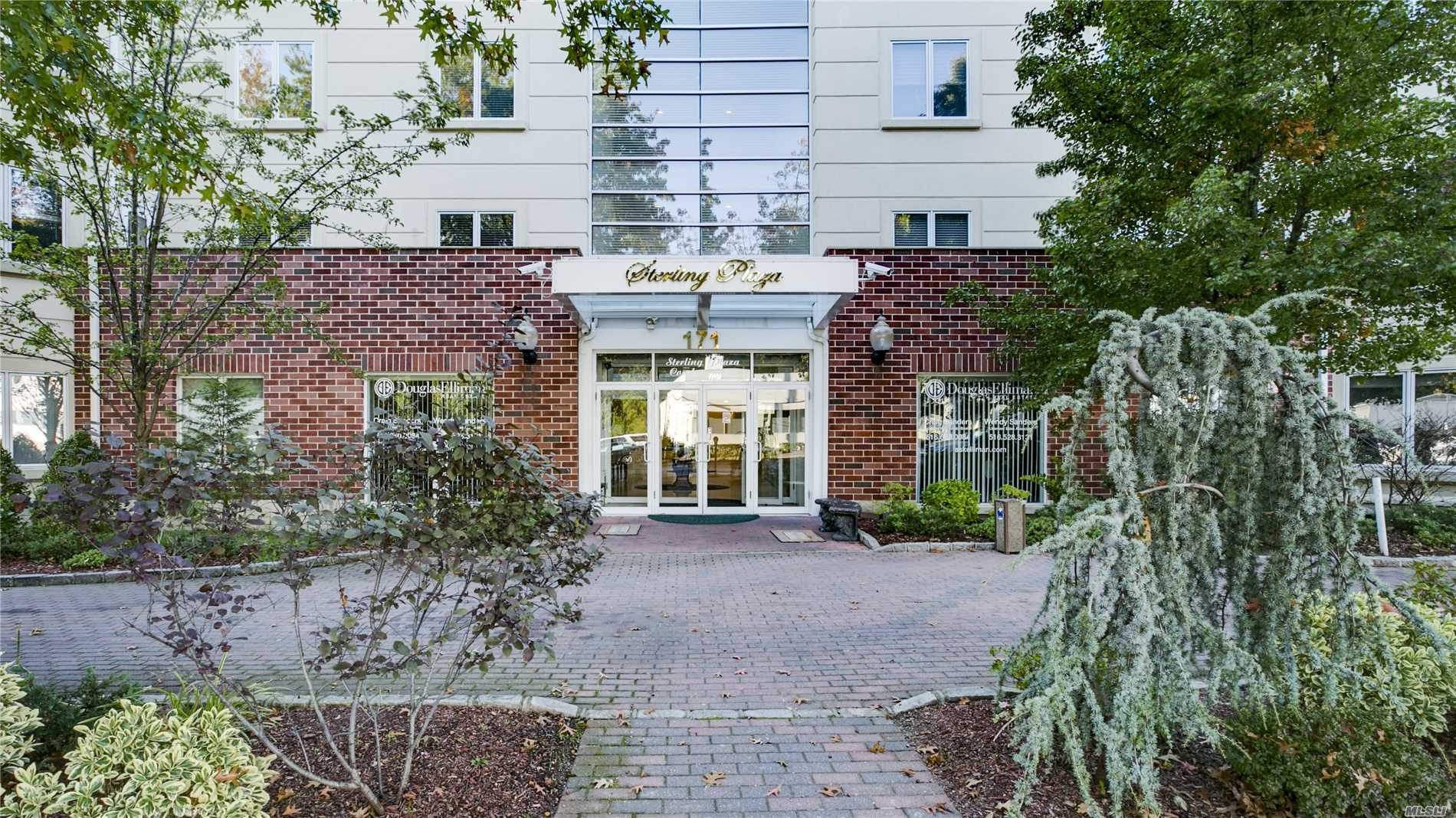 Welcome To Sterling Plaza, Great Neck's Premiere Condominium Building. This Apartment Features 2 Bedrooms With 2.5 Baths, Hardwood Floors, Combo Kitchen, Washer/Dryer & Individual Thermostat. The Building Features 24 Hour Doorman, Fitness Center, Community Room, & Dedicated Garage Parking.