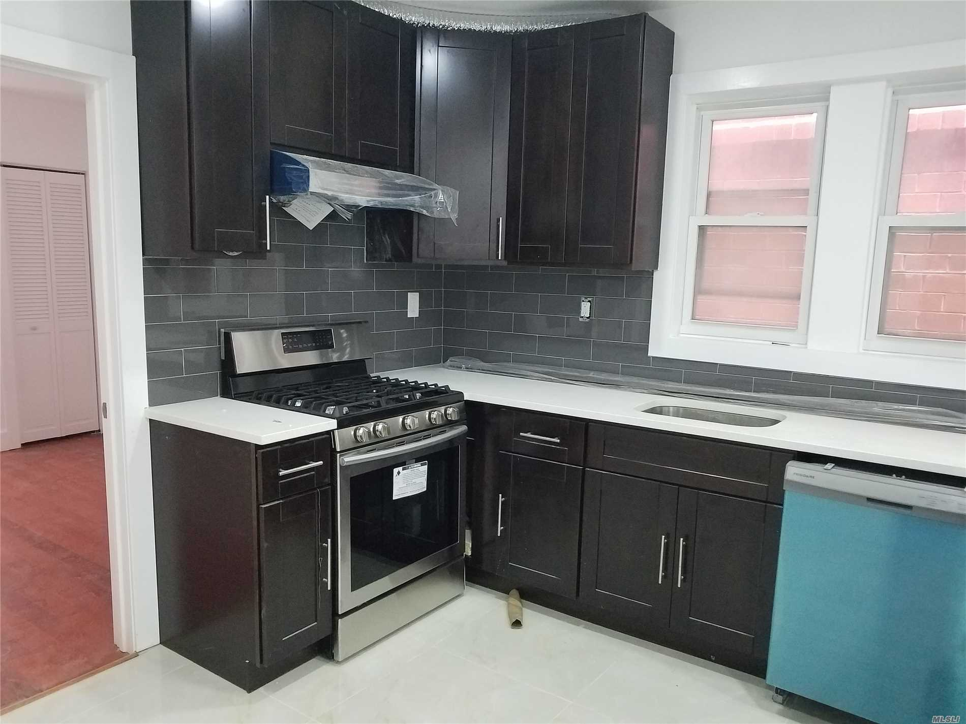 All New Renovated 3 Bedrooms, Full Bath