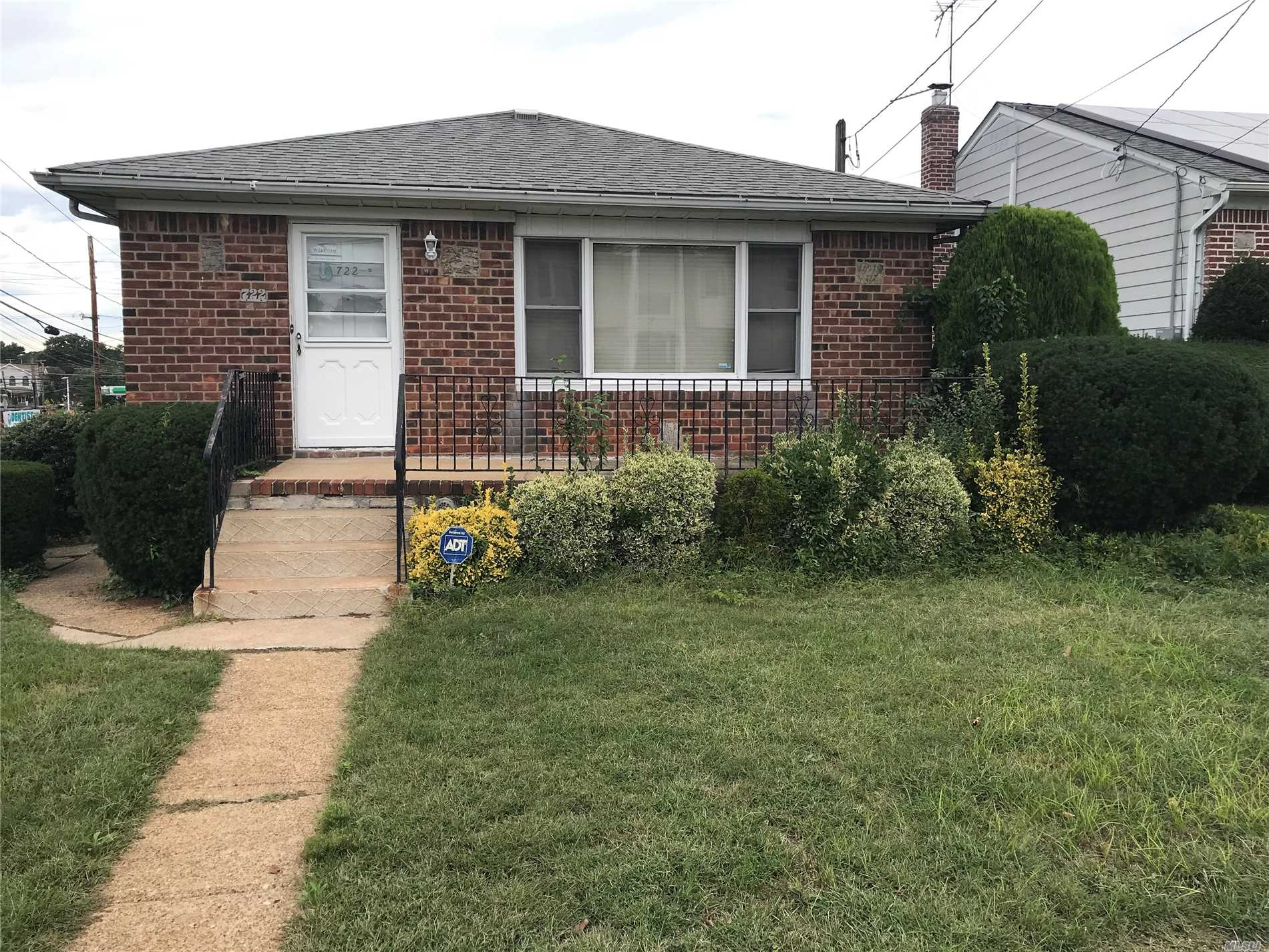Beautiful 4 Bedroom 1.5 Bath Ranch Living Room Dining Room Eat In Kitchen Basement With Seperate Entrance In Ground Sprinkler System. Converted From Oil To Gas Under 5 Years Ago. Corner Property With 1 Car Garage And Ample Yard Space. Will Not Last Schedule An Appointment Today