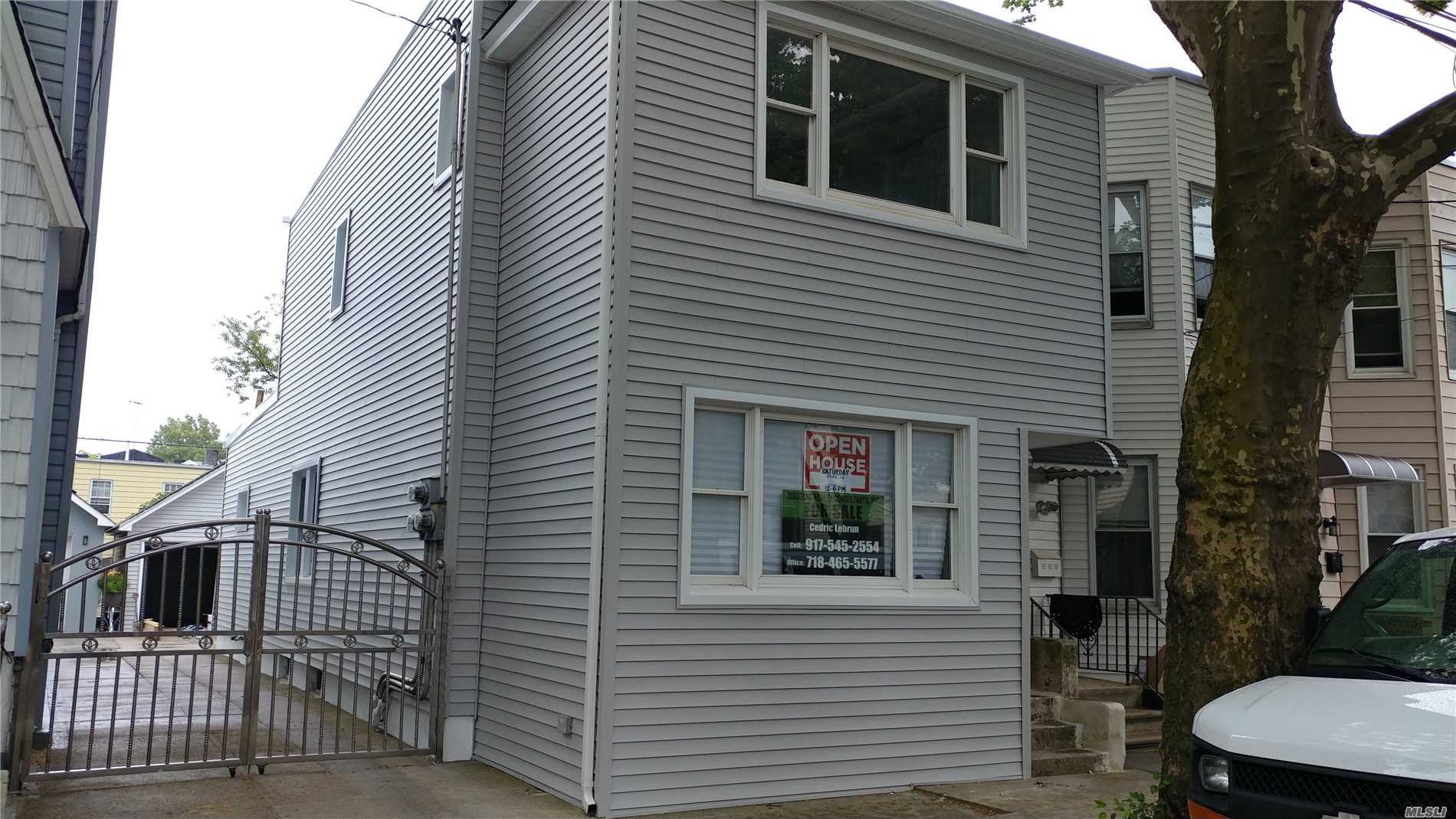 This Is A Beautiful 8 Room 3 Bedroom Home With 3 Full Baths, Wood Floors, Finished Basement, W/7 Foot Ceilings. Enjoy The Large Eat-In-Kitchen With Granite Counters And Stainless Steel Appliances. Wide Driveway And 3 Car Parking In Rear. Bus, And Shopping Very Close. 30 Minutes To Nyc. Don't Wait.