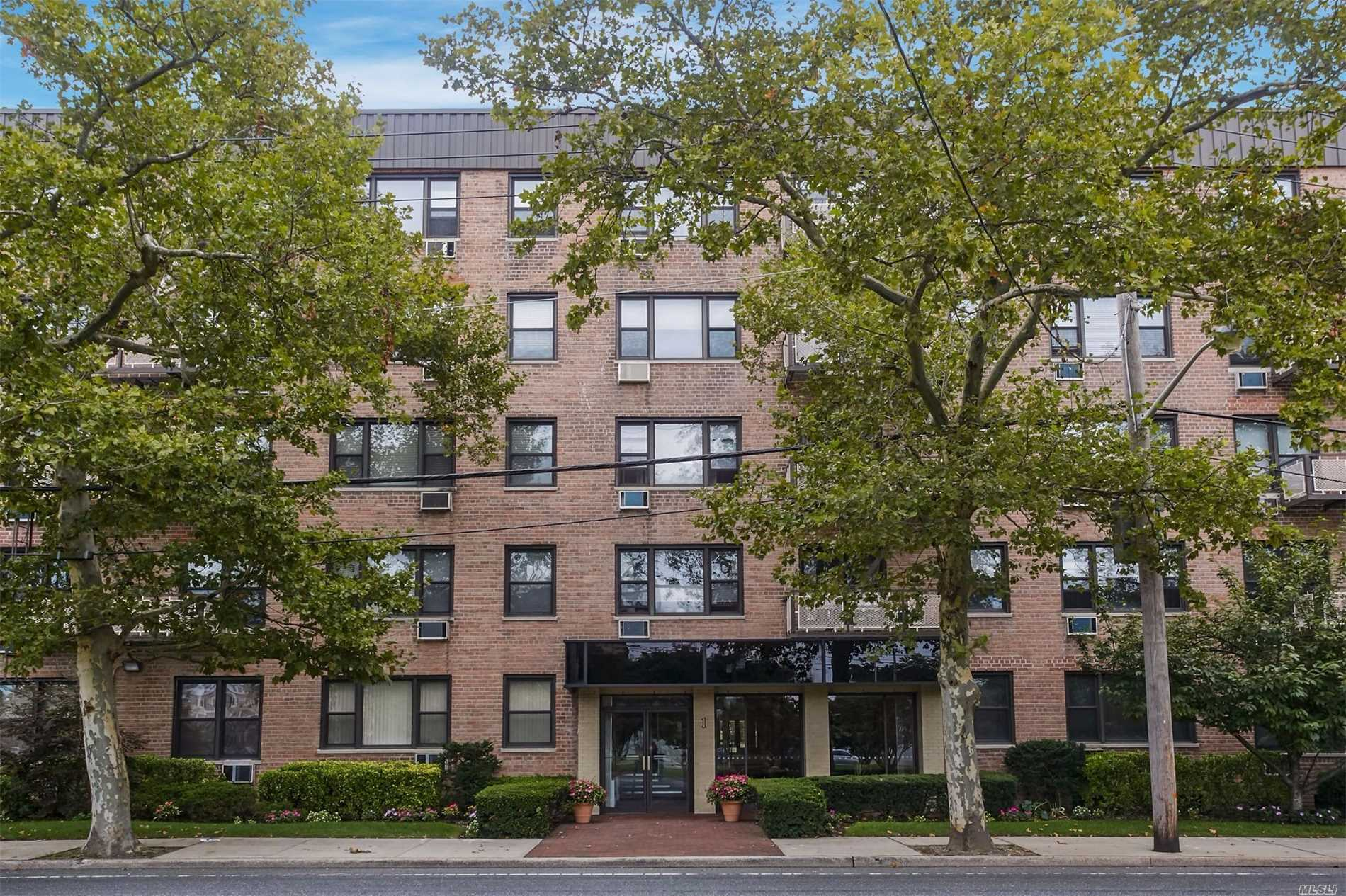 Beautiful 1 Bedroom 1 Bath Apartment W/ Courtyard Views In Birchwood Court! Located In 24 Hr Gated Community W/ New Laundry Facilities. Apartment Comes With A Transferrable Parking Spot! Close Proximity To Lirr, Shopping And Restaurants. Must See!