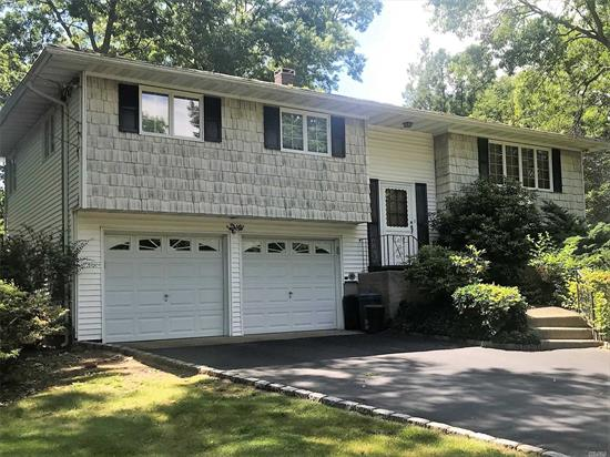 First Showing Of This Hi Ranch In Port Jefferson Station With Many Possibilities. This Home Features Hardwood Floors, Country Kitchen With Bay Window, Large Open Living And Dining Room Combo And Central Air. Possible Mother/ Daughter Set Up With Proper Permits. Convenient To School And Shopping.