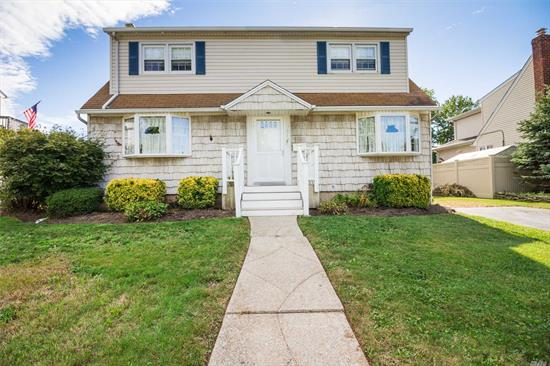 4 Bed/2 Full Bath Colonial With Full Unfinished Basement, Situated On .20 Acre Property In The Levittown Sd #5. With Separate Hot Water Heater, Central Air And In-Ground Sprinklers.