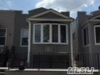 Perfect Starter Home In Maspeth Horseshoe, Gas Heat, Private Yard, Wood Floors, New Siding, Roof & Skylight 2 Years Old.