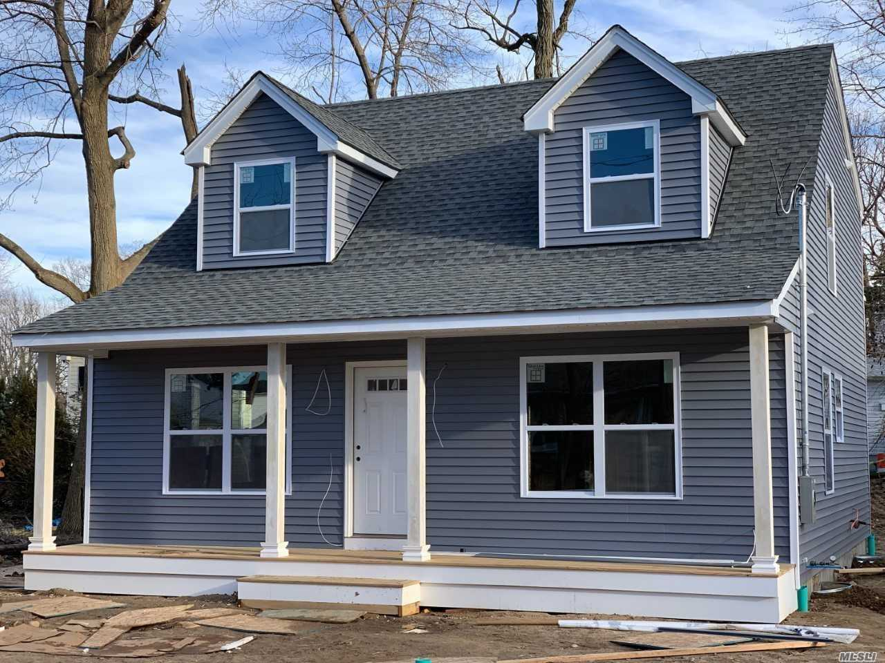 New Colonial-Under Construction Kitchen/Granite Countertops, Oak Floors, Central Air Conditioning, Gas Heating, Architectual Roof, Vinyl Siding, Hi Hats, Gas Fireplace, 200 Amp Electrical Service-Still Time To Customize Will Be Ready In 4 Months.
