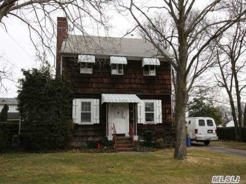 Great Neighborhood And Schools, Huge 75X225 Property. Spacious Colonial Home, Also For Rent With Option To Buy. 3 Bedrooms, 1.5 Baths, Lge Lr W/Fplce, Dr, Den Or Office, Kitchen, Graceful Staircase To 3Lge Bedrooms And Full Bath.Full Basement, 2+ Garage. Close To Rr, Bus, All Major Traffic Arteries, Schools, Major Shopping And Quaint Village Shops, Bethpage Park W/5 Golf Courses, Including The Bethpage Black Of U.S. Open And Barclays Venue And Fame.