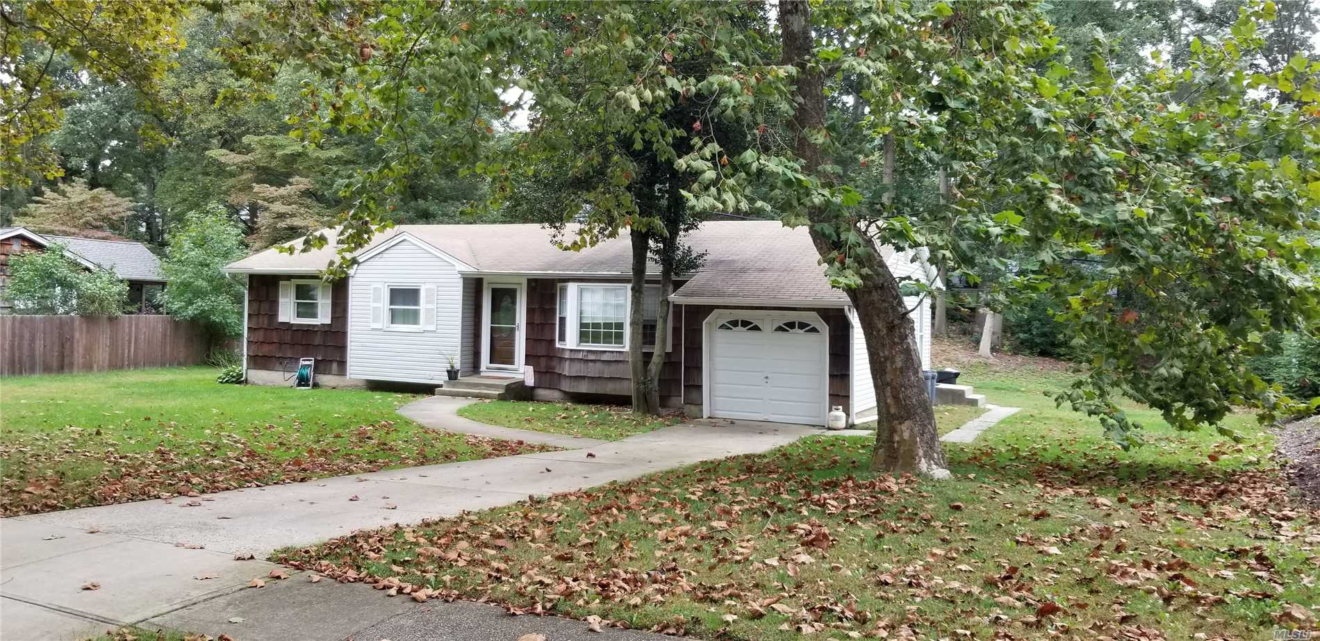 Renovated Ranch With 3 Bedrooms, Lr, Dr, Bath, Basement & Garage.
