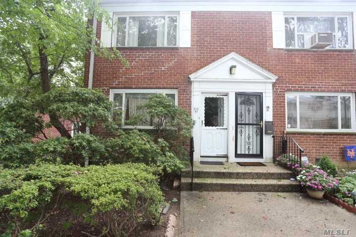 Bay Terrace Gardens 2 Bedroom 1.5 Baths Duplex In Courtyard. Walk To Bay Terrace Shopping Center, Library, Bay Terrace Pool Club (Not Part Of Coop), Elementary / Middle School, Express Bus, Bus To Flushing & Lirr. Maintenance Of 801.67 Includes Washer/Dryer Combo, Dishwasher, 3 Air Conditioners, Gas, Electric.
