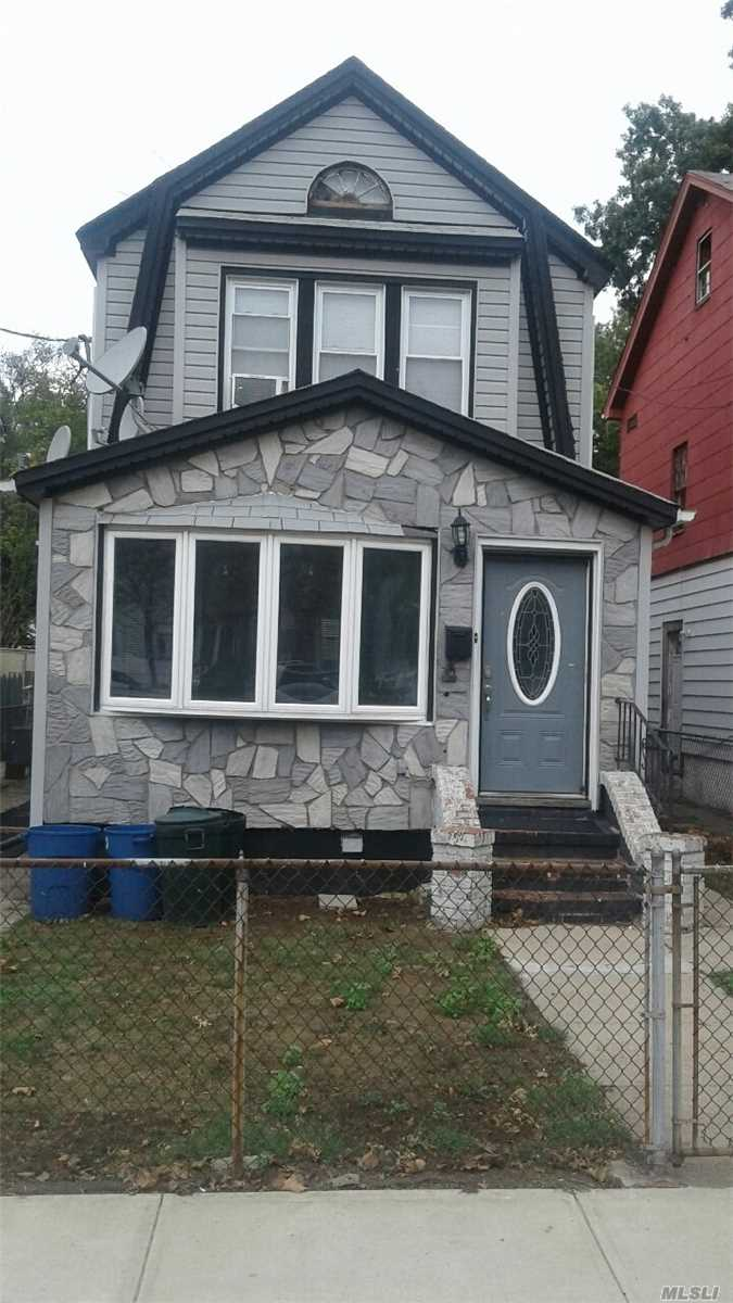 Property Located In The Desirable St. Albans Area Of Queens.