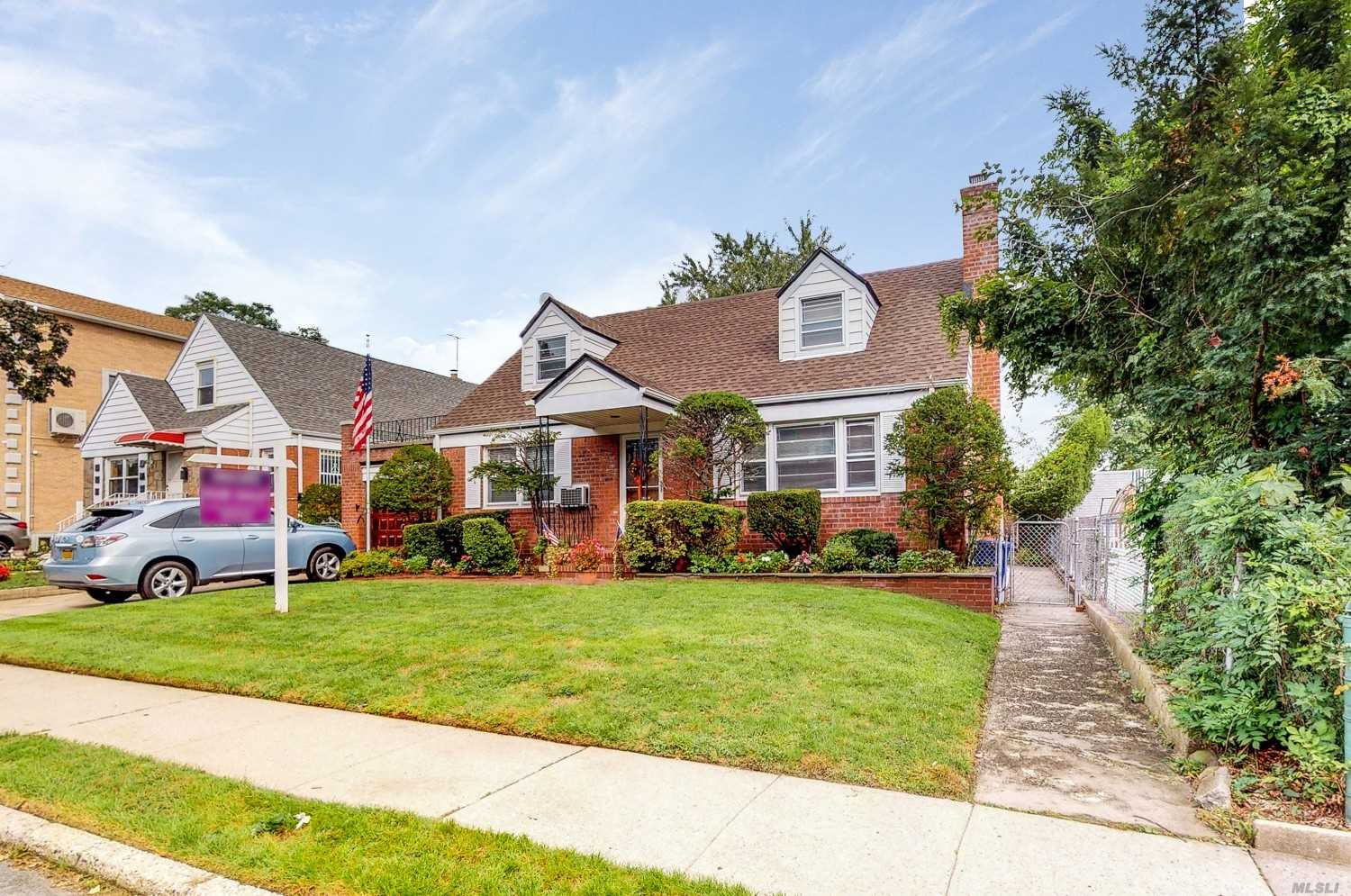Located In The Heart Of Fresh Meadows. Zoned To Renowned School District #26, This Beautiful Cape Cod And One Of A Kind Find Features And Eat-Kitchen, Formal Dining Room, Living Room, 4 Bedrooms, 2 Bathrooms, Finished Basement,  Large Garden, And A Private Driveway With A 1 Car Garage!