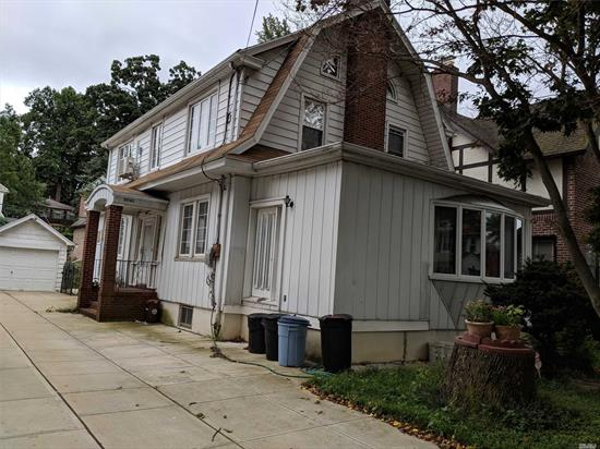 Dutch Colonial Sitting In The Heart Of North Flushing , Stairs To Roomy Third Floor, Sun Roof Windows, Full Bath, Lot Of Storage . Walk To Lirr, Convenient Location To Shopping & Transportation.