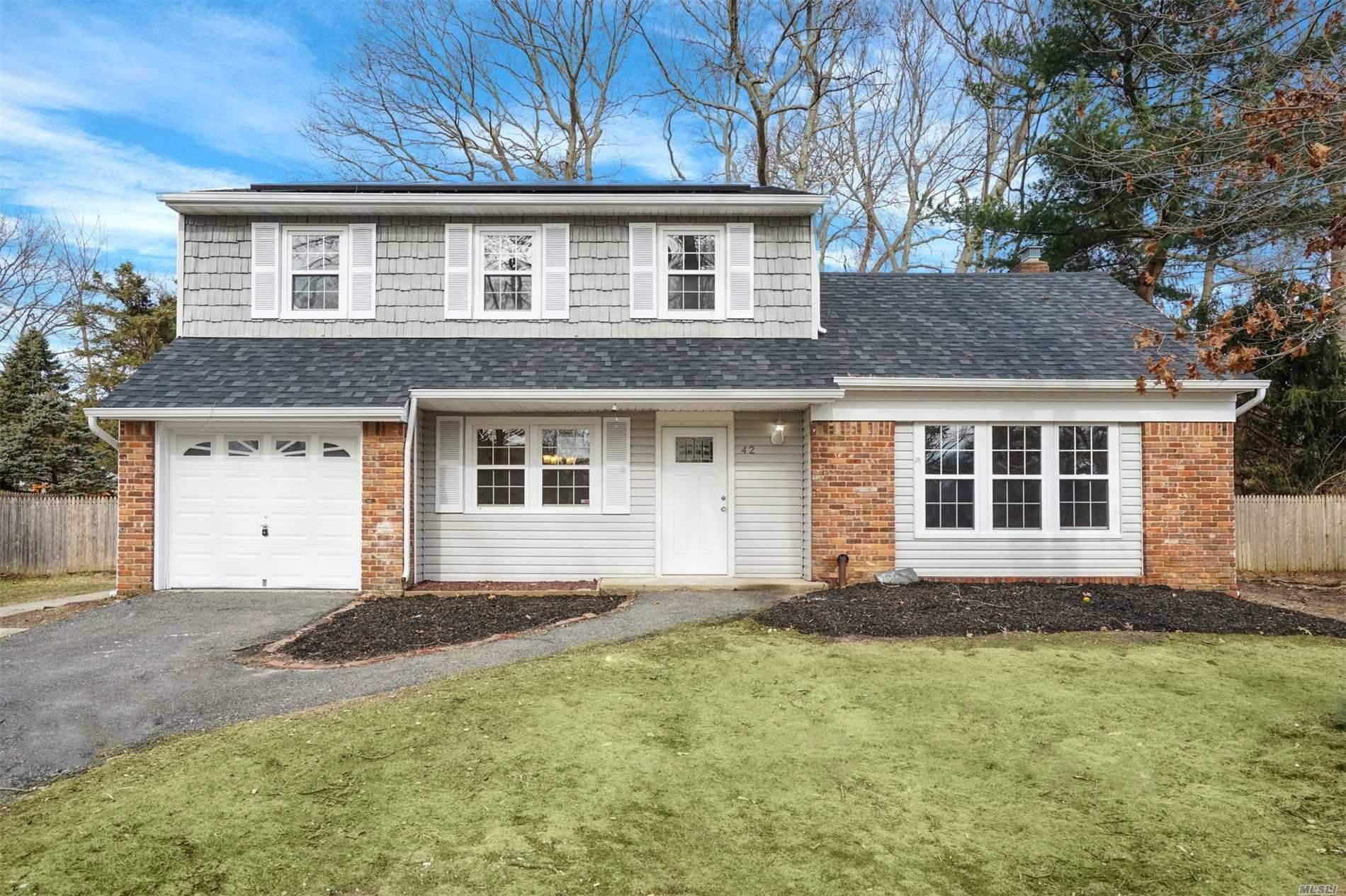 Beautiful 1700 Sq Foot Colonial Home All Newly Renovated 3 Bed 2 1/2 Bath, Kitchen, Den And Fire Place In Den, Large Back Yard Fenced In And Home Offers A 2 Year Warranty.