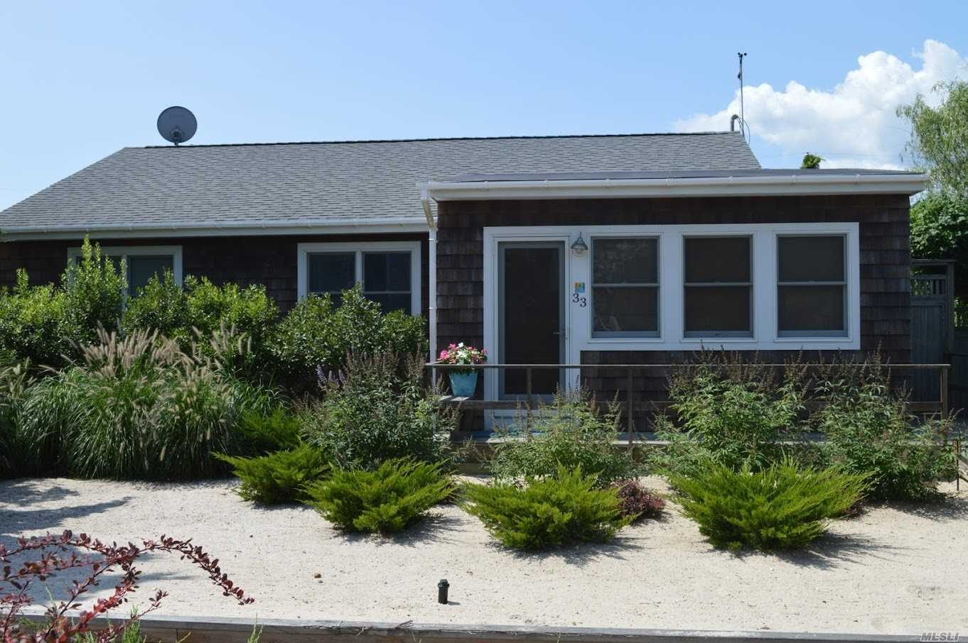 Charming Renovated Beach House In The Summer Club Condo Assoc Within Walking Distance To Ocean Beach. House Has 1, 355 Sf W/Enc Porch, Lr, Eik, Dr, Den, Mbr W/Mbth, 3 More Brs & Fbth. Guest Cottage With Den & .5 Bth. 60' X 100' Parcel With 906 Sf Deck & Outdoor Shower. Heat Pump For Heat & Cac, Wood Floors, New Waterproof Sheetrock, 200 Amp Electric & Insulation Post Hurricane Sandy. Summer Club Has Clubhouse With Gym, Har-Tru Tennis Courts & Gorgeous Private Beach. Flood Insurance $1, 437/Yr.