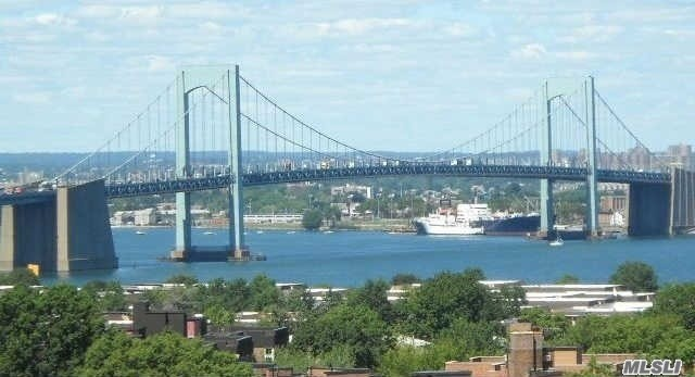 Fabulous Bay Club Gated Community. 24 Hr. Security. Doorman / Concierge. One Of A Kind Largest Unit In The Bay Club!. Fully Renovated..Designer Unit. Amazing Bridge, Water & City Views! 3 Bedroom Unit Converted To 2 Bedrooms With Super Master Bedroom (Has Slider To Convert To 3 Beds). Bosch D/W. Subzero Fridge. Recessed Lighting.Terrace. Year Round Swim & Fitness Center, Indoor Parking (Extra Fees). Underground Stores. Free Tennis Club. On Premises Restaurant. Best Location... Near Everything.