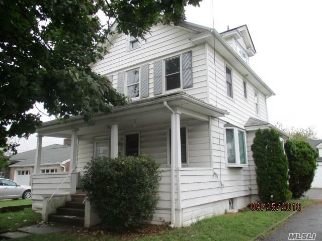 Detached Colonial, Set On 5000 Sq Ft Lot, Has Garage And Long Driveway, Florida Room, Living Room, Dining Room, Huge Attic Space, Lots Of Storage In Basement