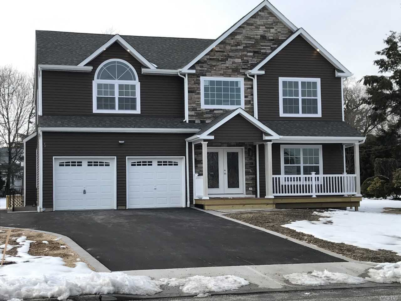To Be Built 5 Bedroomcolonial On 3/4Acre Parcel-Custom Kitchen/Granite Countertops/Stainless Steel Appliances, Oak Flrs, 2 Zone Central Air, Fireplace, Great Room, Molding Package, Hi Hats, Architectual Roof, Vinyl Siding, 200 Amp Electrical Ser, Cedar Impression Siding Front, Still Time To Customize.