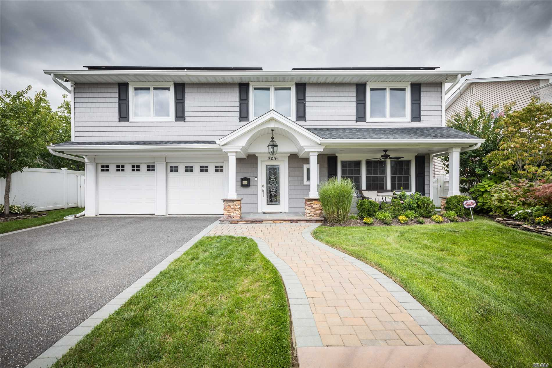 East Bay Large Splanch, Chefs Eat In Kitchen, 6 Burner Gas Stove With Griddle And Double Oven, Huge Center Island,  All Newly Redone Siding, Roof, Garage Doors, Front Door,  Cac, Solar Panels(Approx $12 A Month Electric Bill) State Of The Art Alarm And Camera System, Remote Access, Home Automation For Door Locks, Lights, And Thermostats, Ring Doorbell Hardwired,  Huge Master Walk In Closet, Gas Fireplace. Large Bedrooms, All Bedroom Closets Organized. *Tax Grievance In Effect See Attachment*