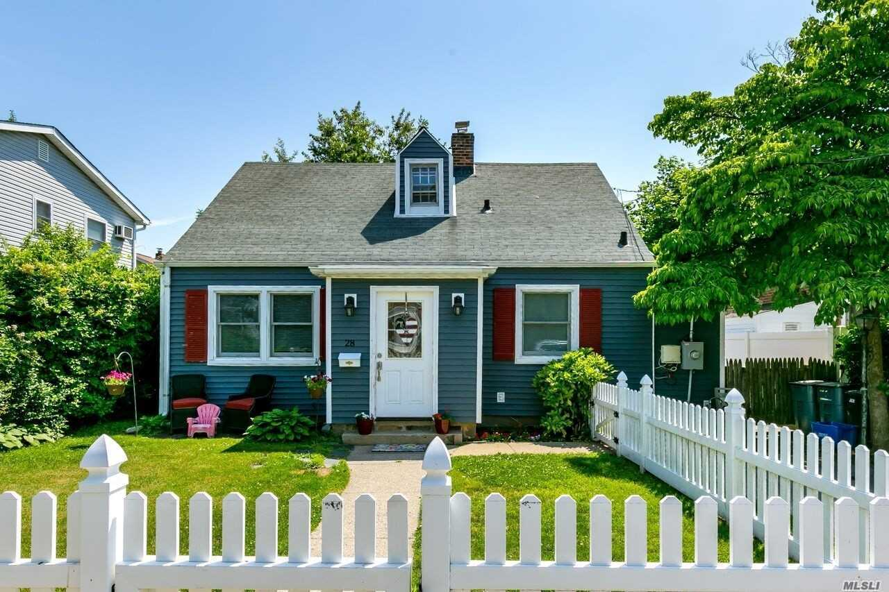 Cozy Cape, Steps Away From The Marina. Updated Kitchen & Bath. Updated Siding & Windows. Walk To Outdoor Pool, Beach, Park, Tennis Courts & Playground. Updated Boiler & Hot Water Heater. Tax Reduction Approved And Will Be Transferred With Purchase