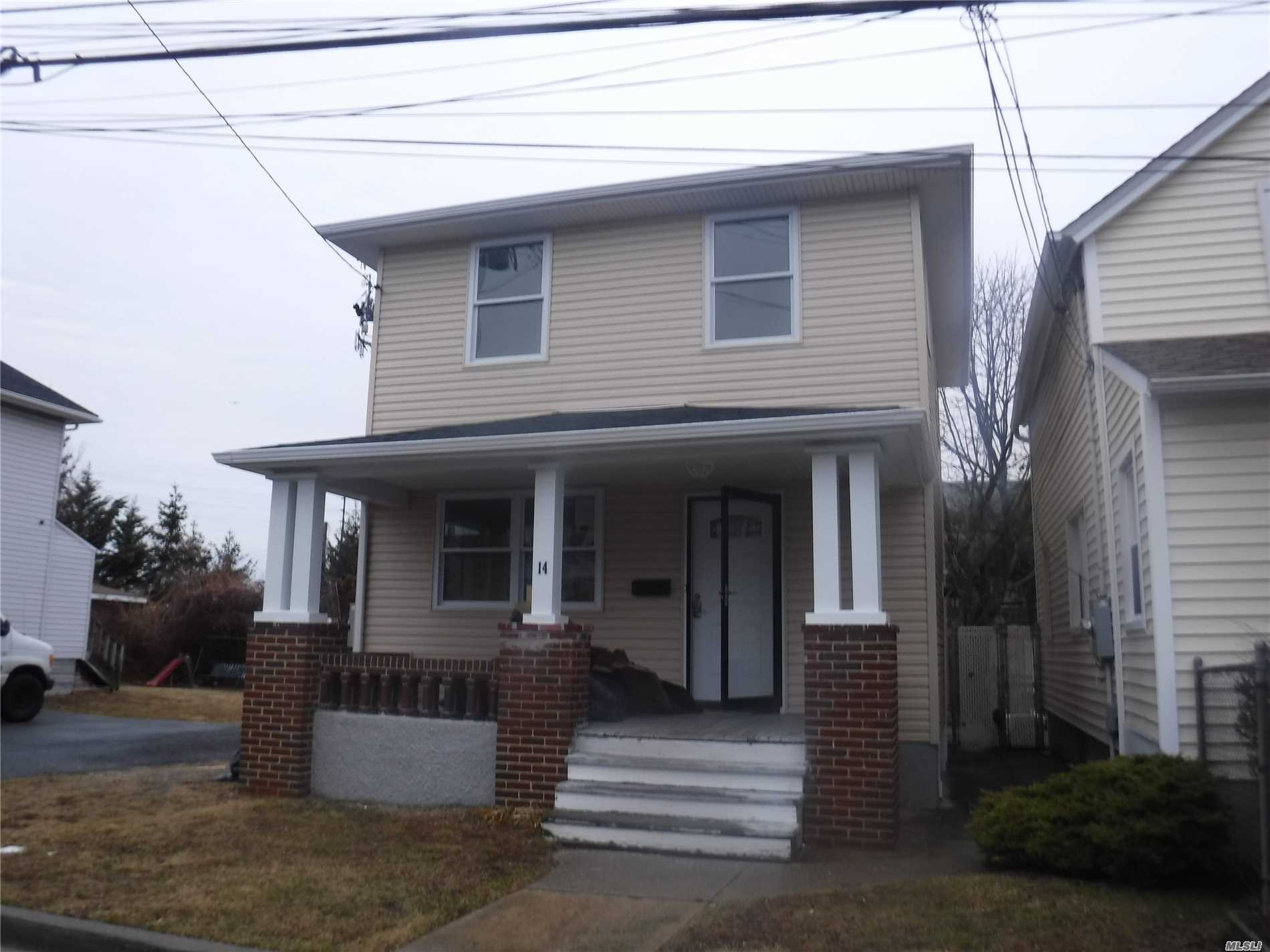 Completely All New, Central Ac, Walking Distance To Train