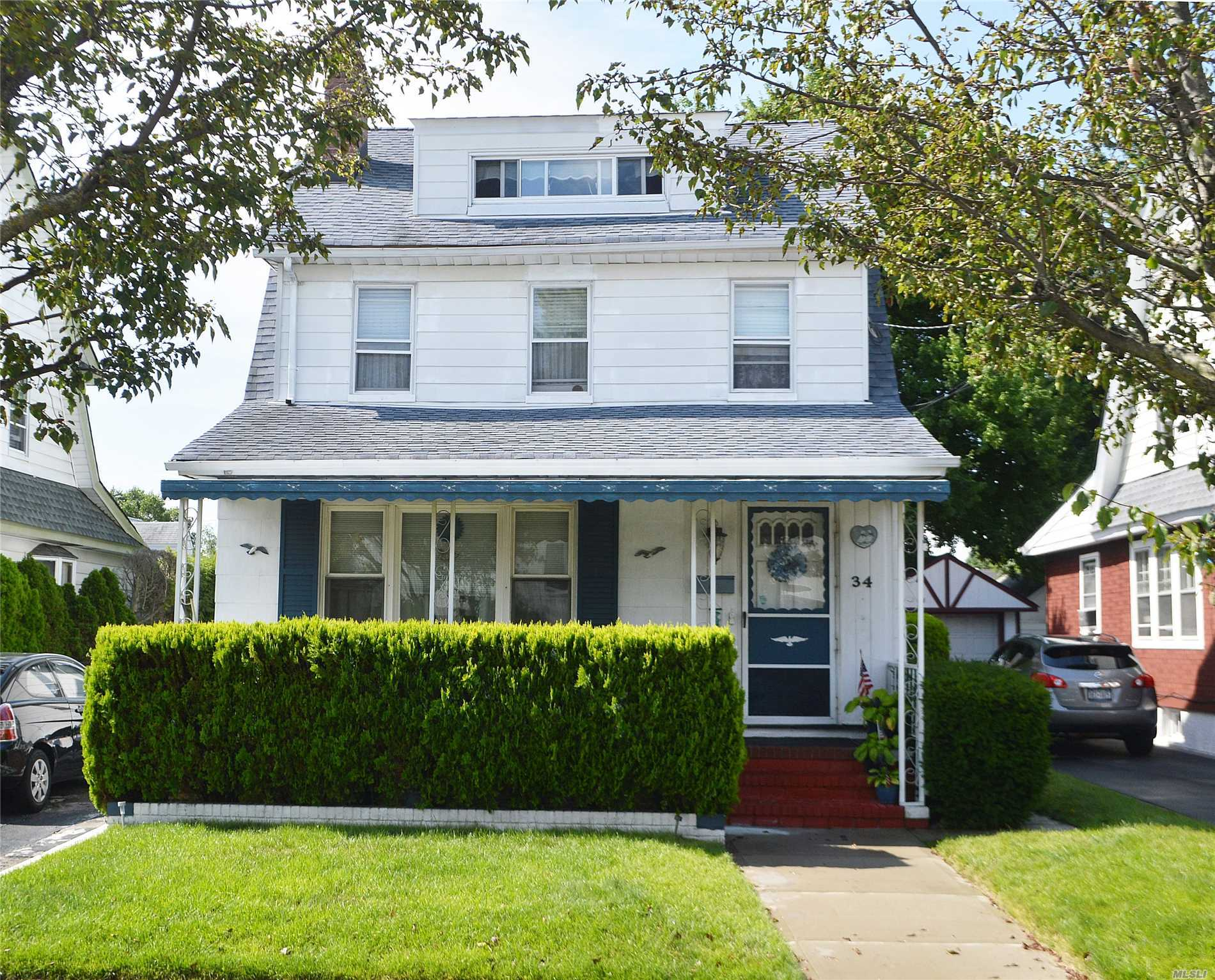 Large Colonial, Living Rm W/Fireplace, Formal Dining Rm, Eik Leads To Large Sitting Rm, Second Fl Boosts 3 Bedrooms And 2 Full Baths, Plus Huge Walk Up Attic.