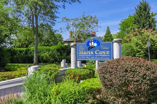 Beautiful Upper Unit With Magnificent Views Of Harts Cove, Dune Road And Moriches Bay. Boat Slip, Tennis, Horses, Pool. Expanded Custom Kitchen, New Appliances & W/D, New Heat Pump, Updated Baths, Trex Decking, Awning, Roller Sky Light Shades. Come Be Part Of This Pristine Community With Breathtaking Sunrise And Sunset Views! What A Place To Call Home!! Your Soul Will Thank You!