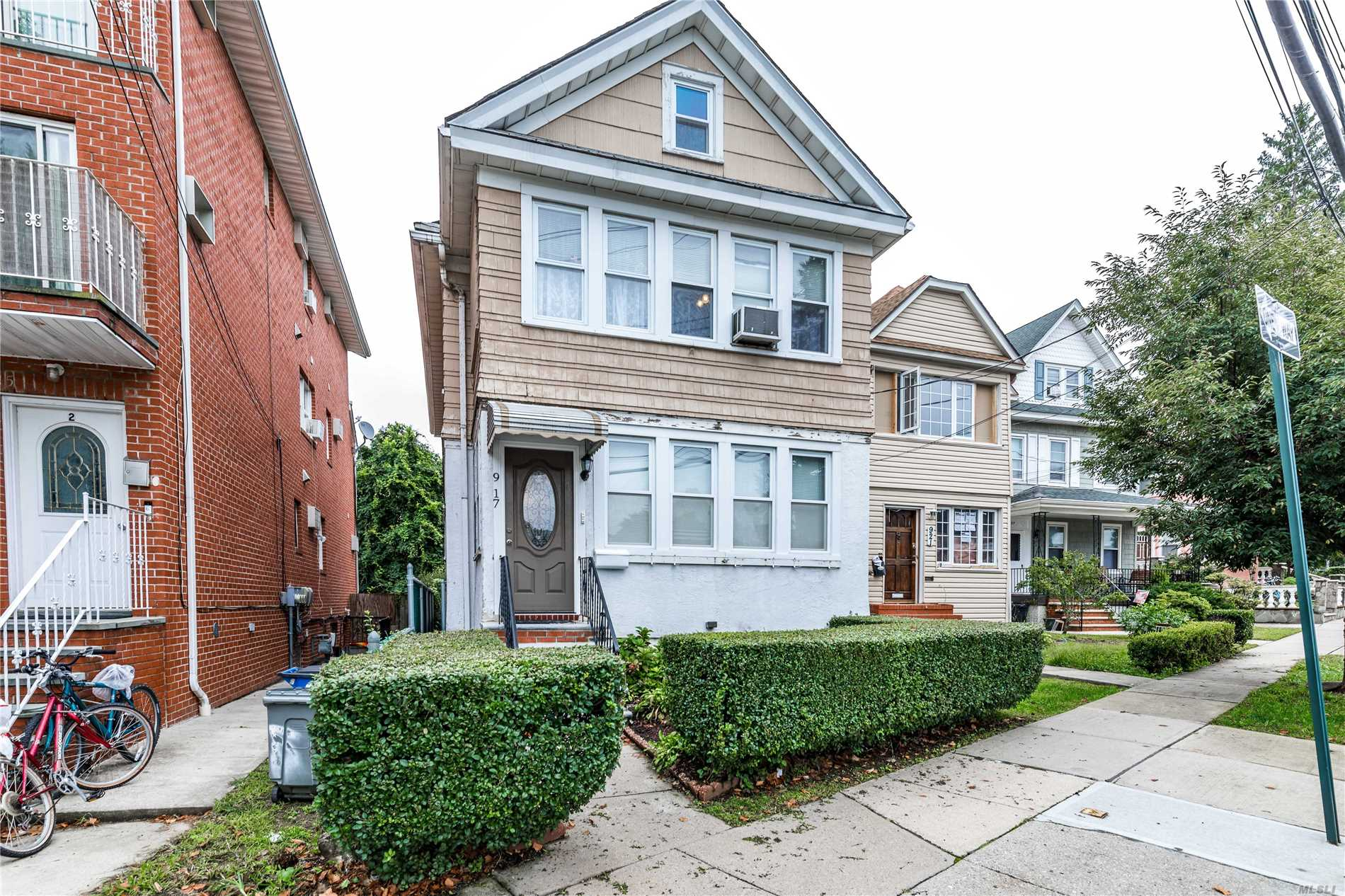 Detached 2 Family With Beautiful Yard. Good Layout - Needs Updating. 3Br Apartment Over 2Br Apartment Plus Attic And Newly Finished Basement. Adjacent To College Estates