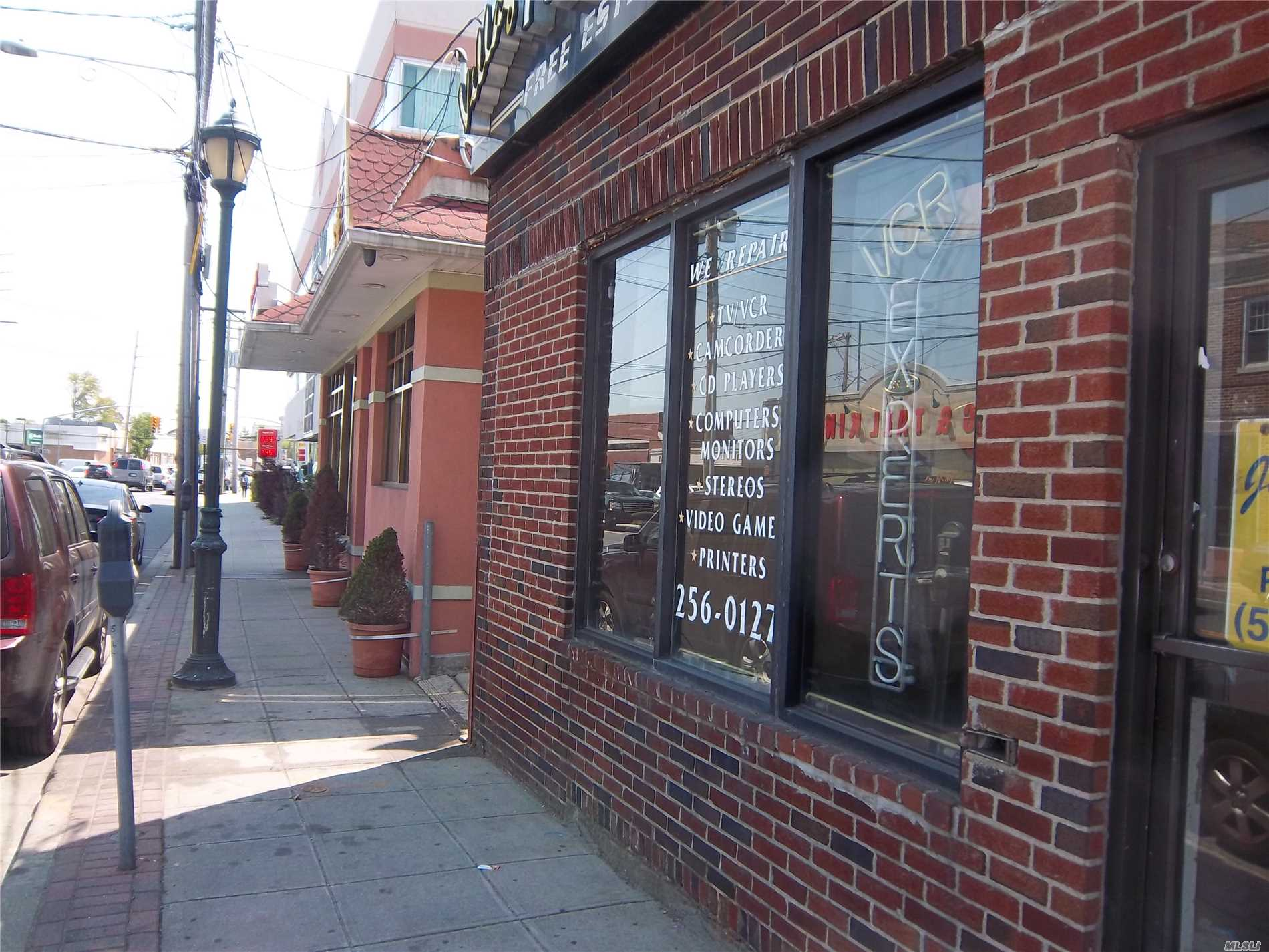 Brick Building Located On A Heavily Traveled, Vibrant Commercial Street. Next Door To Cvs Pharmacy. Close To Parkways, And Public Transportation. Suitable For Any Kind Of Business, Store Or Office. Great Deal!