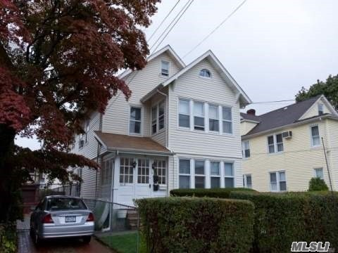 First Floor In 2 Family House, Walk To Lirr, One Parking Space Incl.,  Also Incl. Space To Install Own Laundry Washer & Dryer In Basement