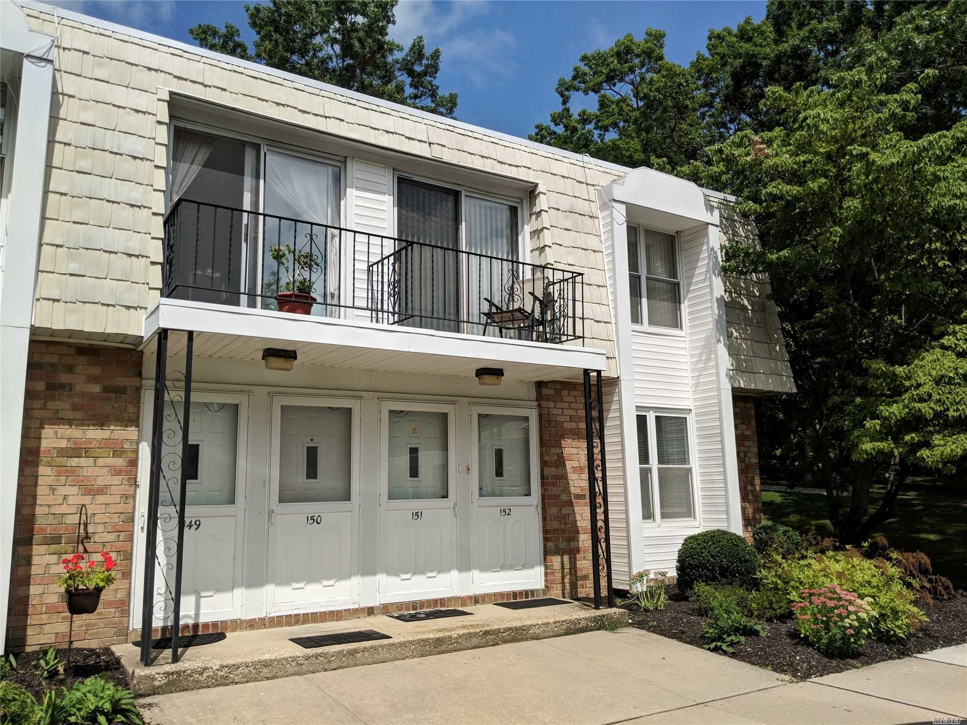 Lovely 1 Bedroom Lower End Unit W/Private Patio. Heat/A/C Unit 2/3 Yrs Old. Common Charges Include: Taxes, Gas Heat, Water, Garbage And Snow Removal. No Pets. Must Be Owner Occupied. 650+ Credit Score, $40, 000 A Year Income. Sale May Be Subject To Term & Conditions Of An Offering Plan.