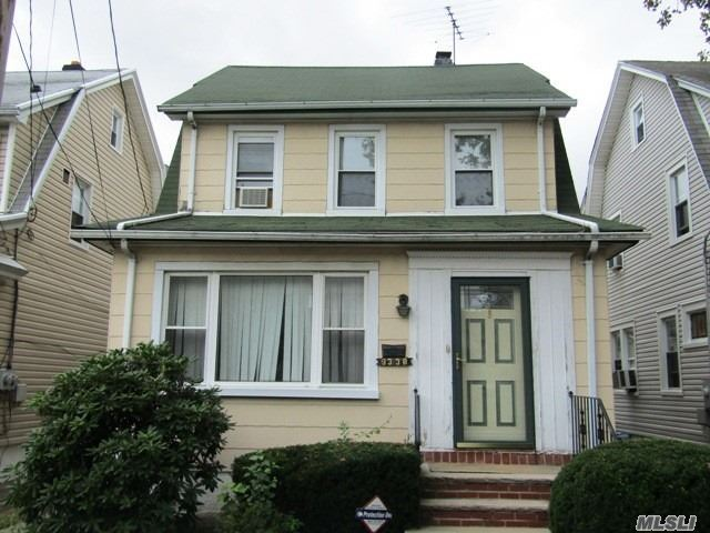 Charming Colonial In Floral Park! This Home Features Three Good Sized Bedrooms, An Eat In Kitchen, Large Sunny Living Room, Formal Dining Room And One And One Half Baths. The Basement Is Full, And Is Partially Finished. Close To Ground Transportation, Major Highways, Easy Shopping And Excellent Restaurants. In School District #22.