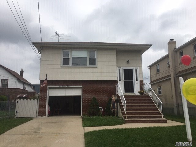 Beautiful Hi Ranch, 4 Bedrooms, 2 Full Baths, Large Home For A Large Family, Possible Mother/Daughter With Permits, Hard Wood Floors On 2nd Floor 3 Rooms On 1st Floor With Separate Entrance