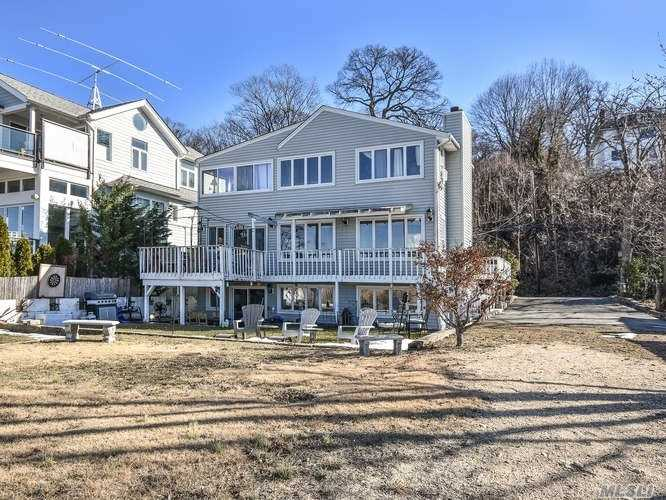 Wake Up To The Glorious Sea Cliff Harbor Views And At The End Of The Day Enjoy The Most Miraculous Sunsets Long Island Has To Offer! This Newly Renovated Apartment Brings Home The Joy Of Living With The Beach As Your Backyard--Sea Cliff At It's Best!