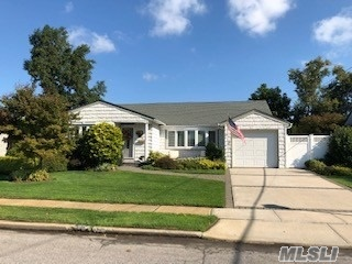 Large 3 Bedroom 2+ Bath Ranch In The Famed Wantagh School District..Formal Living Room Formal Dining Room..Eat In Kitchen..Family Room..Deck With Fenced In Yard..Full Partially Finished Basement..Washer/Dryer Laundry Room..Lots Of Storage..Central Air..1 Car Garage & So Much More!! Bathroom In Basement..