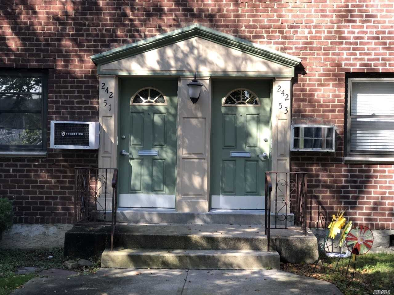 Newly Painted. Newly Refinished Hw Floors! Excellent Condition! Lovely Courtyard Location!