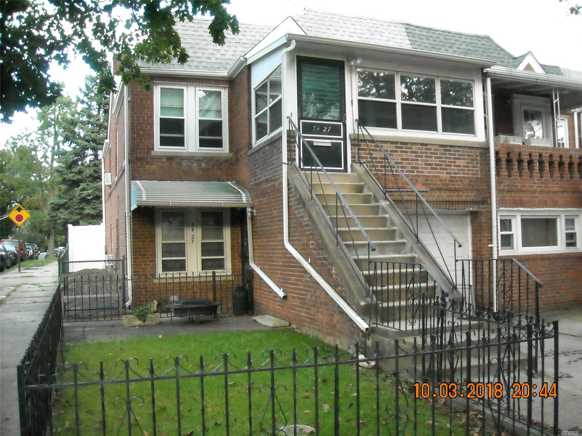 New Roof, New Rear Fence. Great Clean Condition, Legal 2 Family, Second Floor Vacant